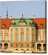 Royal Castle In Warsaw Acrylic Print