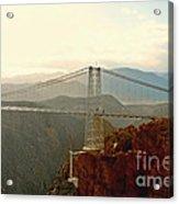 Royal Gorge Bridge Colorado - Take A Walk Across The Sky Acrylic Print by Christine Till