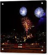 Royal Greenwich Fireworks Acrylic Print