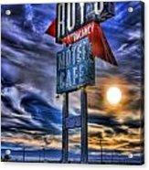 Roy's Motel Cafe Acrylic Print