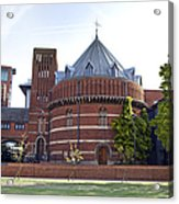 Rst And Swan Theatre Acrylic Print