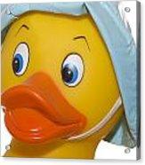 Rubber Ducky Closeup Acrylic Print