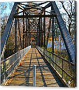 Rube Nelson Bridge 1 Acrylic Print