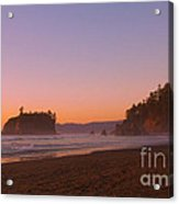 Ruby Beach Acrylic Print