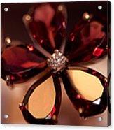 Ruby Ring. Spirit Of Treasure Acrylic Print