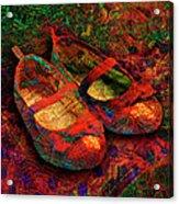 Ruby Slippers Acrylic Print