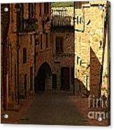 Rue De La Italia Acrylic Print