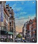 Rue De Metz In Toulouse Acrylic Print