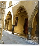 Rue Des Templiers Acrylic Print by Lainie Wrightson
