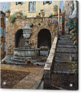 Rue Du Bresc A St Paul De Vence Acrylic Print