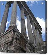 Ruined Columns Acrylic Print