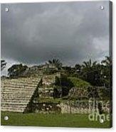 Ruins At Altun Ha Belize Acrylic Print