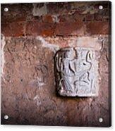 Ruins In Pisa Acrylic Print