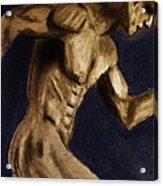 Running Man Acrylic Print