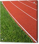 Running Track Acrylic Print