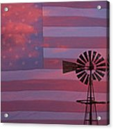 Rural America Acrylic Print