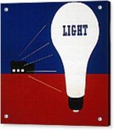 Rural Electrification 1937 Acrylic Print