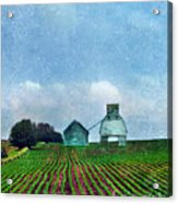 Rural Farm Acrylic Print