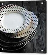 Rural Plates Acrylic Print