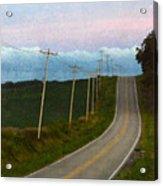 Rural Road Acrylic Print