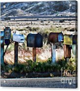 Rural Route Acrylic Print