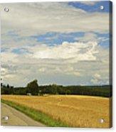 Rural Scene, Near Villingen-schwenningen Acrylic Print