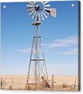 Rural Windmill Acrylic Print