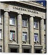 Ruse Bulgaria Courthouse Acrylic Print