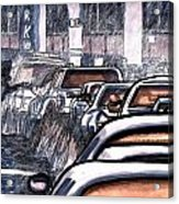 Rush Hour Approach To Midtown Tunnel Nyc Acrylic Print