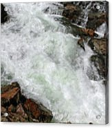 Rushing Waters Glen Alpine Creek Acrylic Print