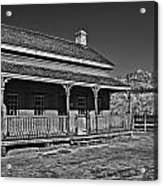 Russell Home - Bw Acrylic Print