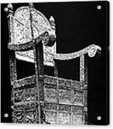 Russia: Throne Of Ivan Iv Acrylic Print