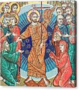Russian Mosaic Icon Acrylic Print