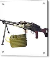Russian Pkm General-purpose Machine Gun Acrylic Print