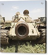 Russian T-54 And T-55 Main Battle Tanks Acrylic Print