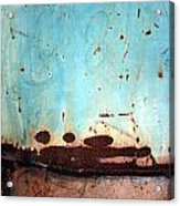 Rust And Paint 1 Acrylic Print