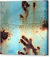 Rust And Paint 2 Acrylic Print