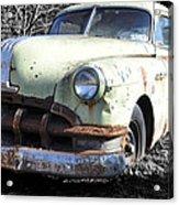 Rust Never Sleeps Acrylic Print