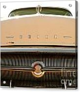 Rusted Antique Buick Car Brand Ornament Acrylic Print