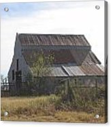 Rusted Barn Acrylic Print