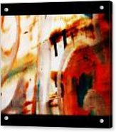 Rusted Paint Acrylic Print