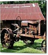 Rusted Past Acrylic Print