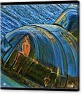 Rusted Submarine Acrylic Print