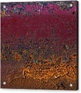 Rusted Wagon Abstract Acrylic Print