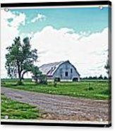 Rustic Barn Scene Acrylic Print