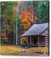 Rustic Colors Acrylic Print