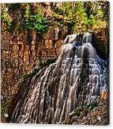 Rustic Falls Acrylic Print
