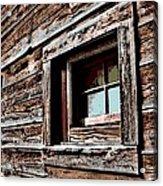 Rustic Portal Acrylic Print