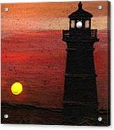 Rustic Sky Acrylic Print