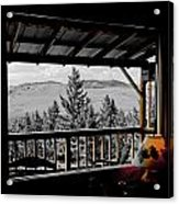 Rustic View Of The Great Outdoors Acrylic Print